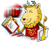 TeX lion logo
