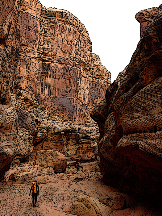 Black Hole Canyoneering Utah (page 3) - Pics about space