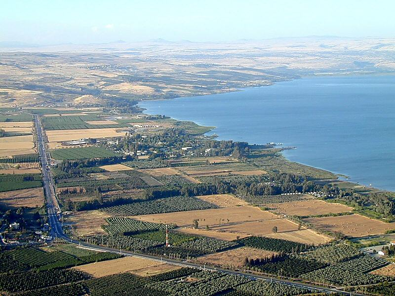 Ginosar Israel  city pictures gallery : The Valley of Ginosar and the Sea of Galilea