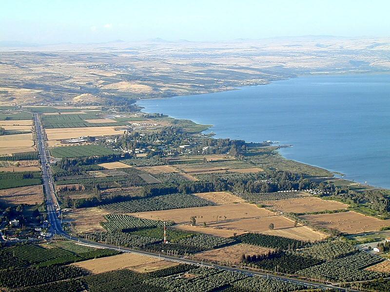 Ginosar Israel  city photo : The Valley of Ginosar and the Sea of Galilea