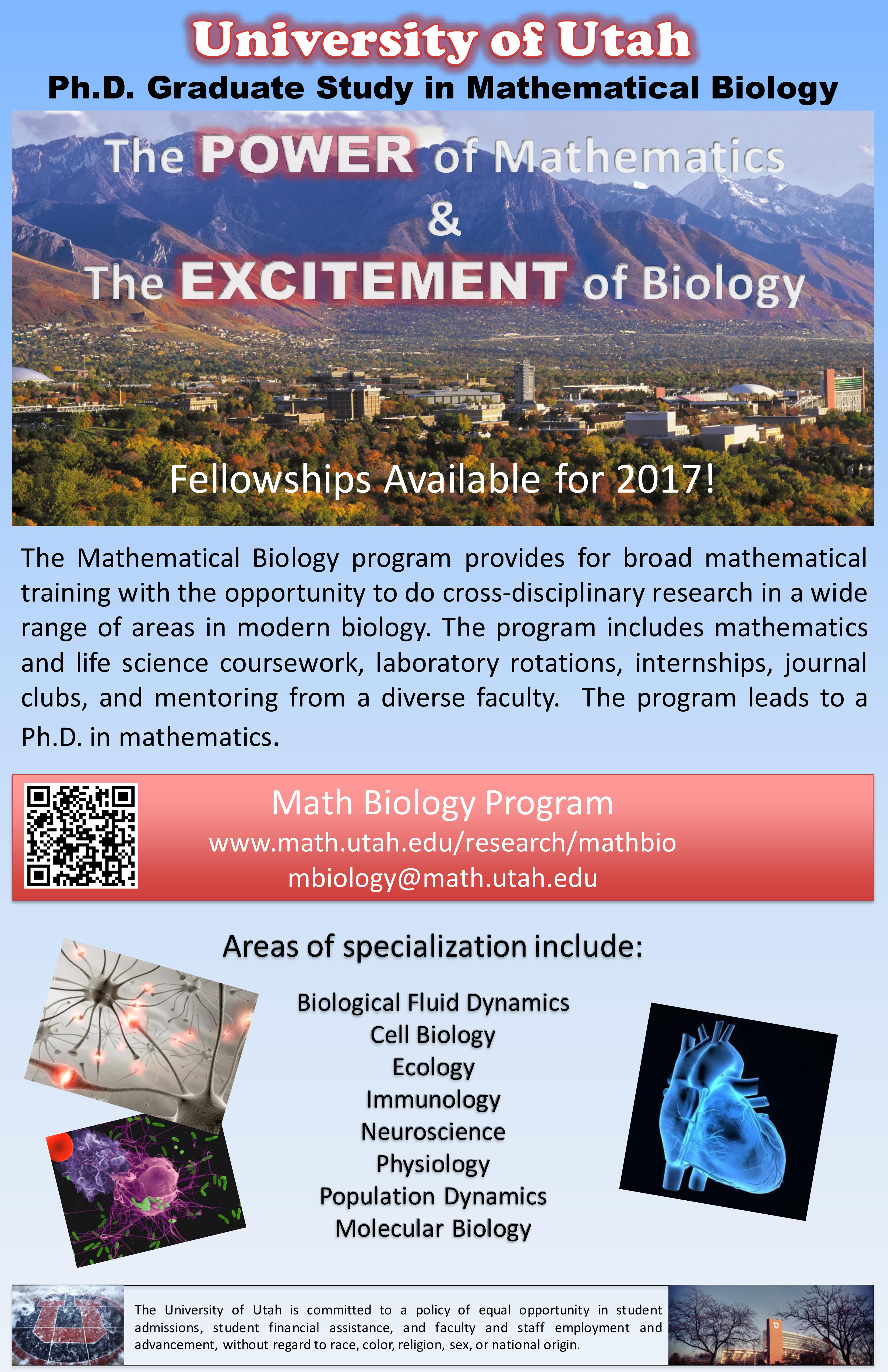 Graduate Mathematical Biology Program